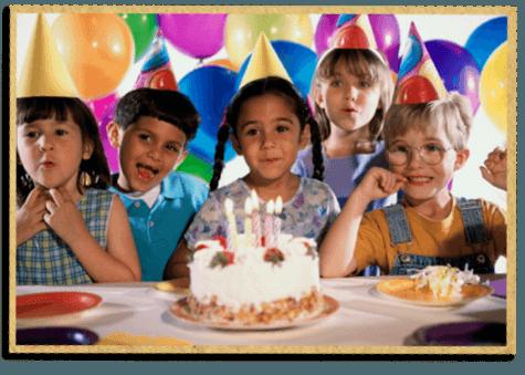 Kinderfeest feestje kinderfeestje