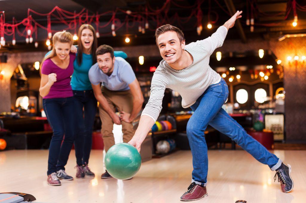 Bowling Bowlen Avond Uit Feestje Zaandam